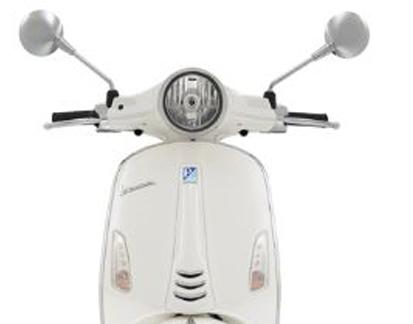 VESPA VXL 125CC WHITE