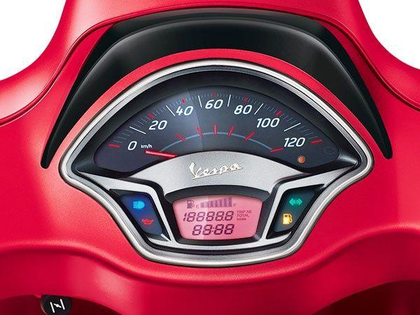 VESPA VXL 125CC RED